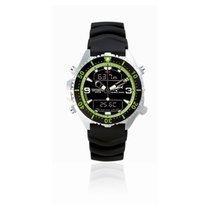 Chris Benz Uhr Taucheruhr Depthmeter CB-D200-G-KBS