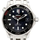 Omega Seamaster Diver 300M Black Co-Axial Ceramic James Bond...