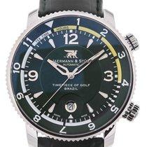 Jaermann & Stübi Royal Open Course Timer 44 GMT Brazil...