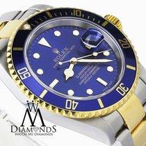 Rolex Mens Rolex 2tone 18k Yellow Gold & Ss Submariner...