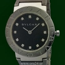 Bulgari Bvlgari Lady 26mm Stainless Steel Diamonds