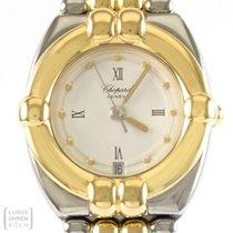 Chopard Uhr Gstaad Lady Edelstahl/Gold Quarz Revision Ref. 8112