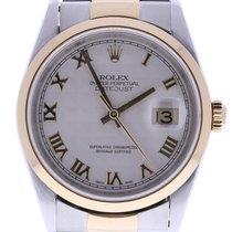 Rolex Datejust 16203 36 Millimeters Beige Dial