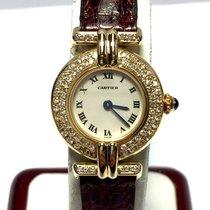 Cartier Colisée 18k Yellow Gold Ladies Watch W/ Diamonds &...