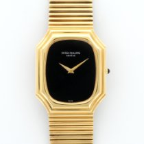 Patek Philippe Yellow Gold with Onyx Dial Ref. 3729/1