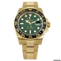 Rolex GMT Master II Green Index Dial
