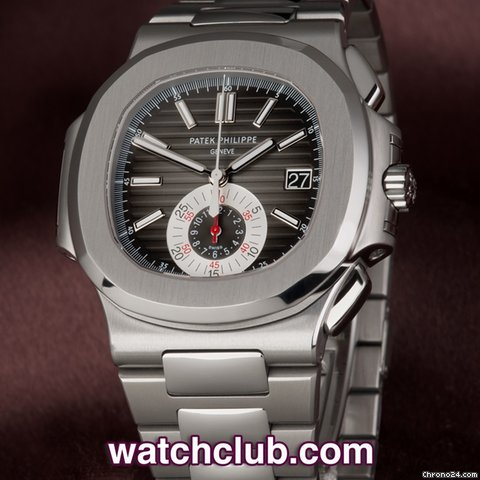 "Patek Philippe Nautilus Chronograph - ""Box & Papers"""