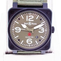 Bell & Ross Instrument BR03-92-S-08394 Green Dial and...