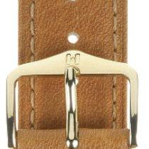 Hirsch Uhrenarmband Camelgrain honig M 01009110-1-14 14mm