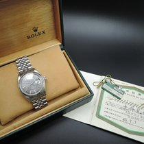 勞力士 (Rolex) DATEJUST 1601 SS ORIGINAL Grey Dial with Box and...