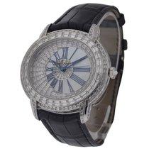 Audemars Piguet Millenary White Gold Baguette Diamond Case,...