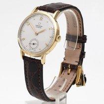 Omega 750/18kt Gelbgold exklusive Chronometer Herrenuhr v 1944...