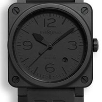 Bell & Ross Aviation BR03-92-PHANTOM-CERAMIC Automatic Watch