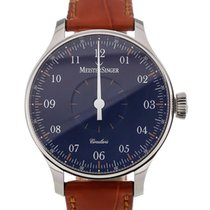 Meistersinger Circularis 43 Manual Blue Dial