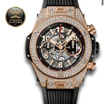 Hublot - UNICO KING GOLD PAVE'