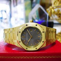 Audemars Piguet Royal Oak 18k Yellow Gold 31mm Grey Dial Watch...
