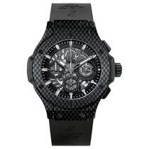 Hublot Big Bang Aero Bang 44mm Automatic Carbon Fiber Mens...