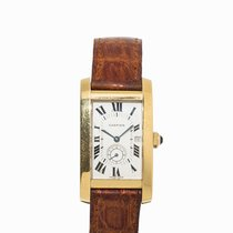 Cartier Tank Americaine Wristwatch, Switzerland, 1990s