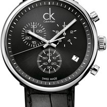 ck Calvin Klein Substantial K2N281C1 Elegante Herrenuhr...