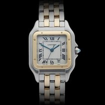 Cartier Panthere Stainless Steel/18k Yellow Gold Ladies 187949