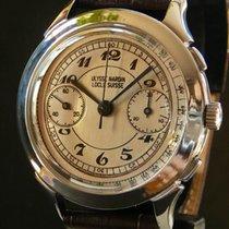 Ulysse Nardin vintage oversize chronograph Valjoux 22, service...