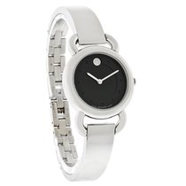 Movado Linio Series Ladies Diamond Swiss Quartz Watch 0606509