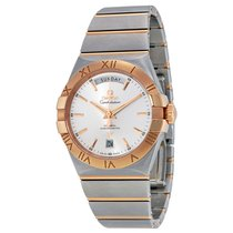 Omega Constellation Chronometer Red-Gold and Steel Mens Watch...