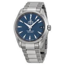 Omega Aqua Terra Blue Dial Stainless Steel Mens Watch 23110392...