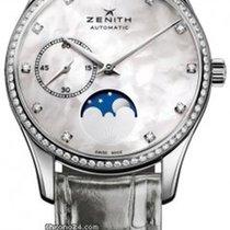 Zenith Heritage Ultra Thin Lady Moonphase NEU mit Box + P