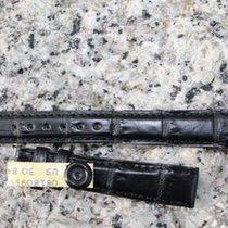 Jaeger-LeCoultre Krokoband schwarz matt 14x12 mm für Reverso Dame