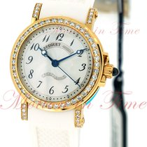 Breguet Marine Automatic Ladies, Silver Dial, Diamond Bezel...