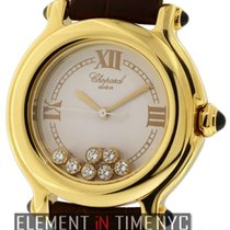 Chopard Happy Sport 7 Floating Diamonds 18k Yellow Gold  Ref....