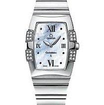 Omega 1586.76.00 Constellation Quadra Quartz Ladies' Watch