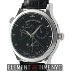 Jaeger-LeCoultre Master Control Geographic Stainless Steel...