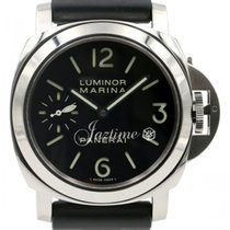 Panerai PAM 111 Luminor Marina Acciaio Men's 44mm Black...