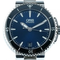 Oris Aquis Lady Date Stahl Automatik Armband Stahl 36mm