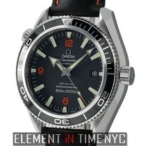 Omega Seamaster Planet Ocean 42mm Steel On Rubber Strap With...