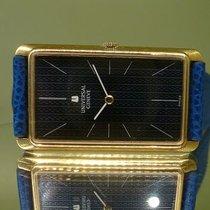 Universal Genève vintage jumbo 42mm rectangular gold 18 kts...