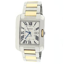 Cartier Tank Anglaise 2-Tone Gold/Steel Automatic Watch W5310047