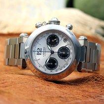 Cartier Pasha Automatic Chronograph Stahl Ref. W31039M7