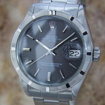 Rolex Mens Vintage Oyster 1968 Automatic 1501 Date Swiss...