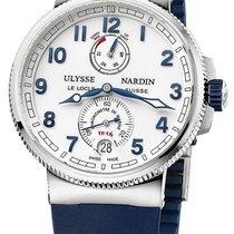 Ulysse Nardin 1183-126-3/60 Marine Chronometer UNWORN Steel 43mm