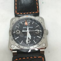 Bell & Ross aviation br 0393 gmt st/sca