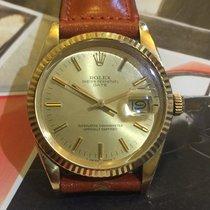 Rolex date oro 18 kt scatto rapido automatico