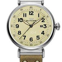 Glycine F104 XL Dress Watch -  48mm Case - Stainless Steel -...