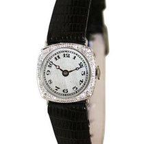 Ulysse Nardin Pre-Owned  Platinum and Diamond Ladies Manual...