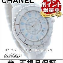 Chanel 【超美品】CHANEL【シャネル】 J12 38mm ブルーライト メンズ腕時計【中古】 Ref.H3827...