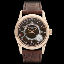 Patek Philippe Calatrava 18k Rose Gold Gents 6000R-001