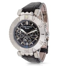 Harry Winston Ocean Chronograph 400/MCADV39PL.K in Stainless...