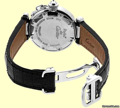 Cartier Diamond Pasha 32mm Strapwatch